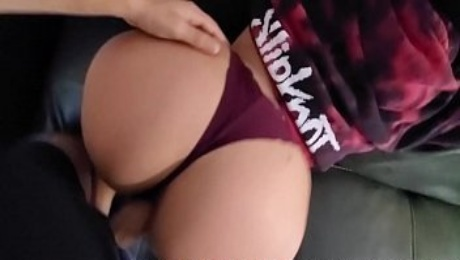 New Neighbor's Daughter Fucking Me As A Warm Welcome Ft. Thong Doggy POV